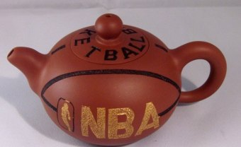 basketball teapot